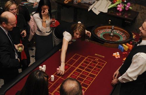 roulette table hire brisbane